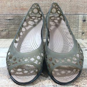 Crocs • 'Adrina' Laser Cut Flats